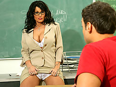 Sunshine Seiber & Rocco Reed as Sexy Teacher