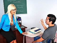 Bouncing Boobs, Puma Swede & Marcos Leon as Sexy Teacher