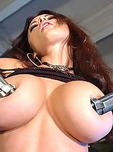 Hard Nipples, Hot Babes in Action