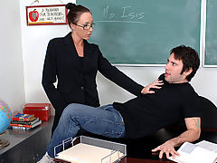 Bouncing Boobs, Katrina Isis as Sexy Teacher