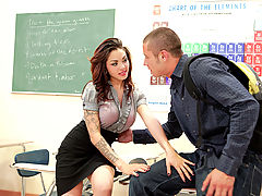 Adrenalynn & Danny Mountain as Sexy Teacher
