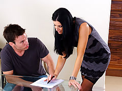 Bigtits Officesex, India Summer & Tim Cannon as Sexy Teacher