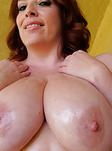 Busty XXX, Oiling The Girls