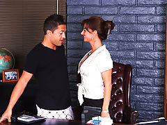 Office Vids: Sarah Bricks & Pike Nelson as Sexy Teacher