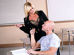 Bigtits Officesex, Ginger Lynn & Johnny Sins as Sexy Teacher