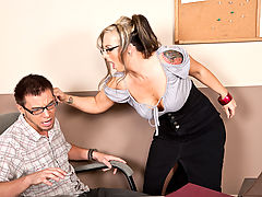 Bigtits Officesex, Shay Morgan & Dane Cross as Sexy Teacher