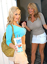 Busty Girls, Sarah Vandella and Kelly Madison 2