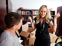 Office Vids: Brandi Love & Bruce Venture as Sexy Teacher