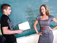 Brandi Love & Chris Johnson as Sexy Teacher