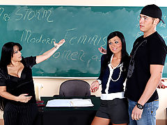 Bouncing Boobs, Mason Storm, Ashli Orion & Chris Johnson as Sexy Teacher