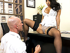 Hairy Pussy, Brazzers Passwords Boning my Boss