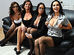 Brazzers Porn Office 4-Play