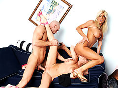 Busty Latina, Misty Vonage, Bridgett Lee & Johnny Sins in Fucking Hot Moms