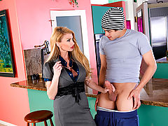 nice cleavage, Taylor Wane & Xander Corvus as Sexy Teacher