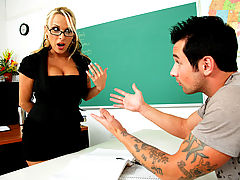 Holly Halston & Joey Brass as Sexy Teacher