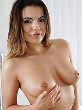 Hot Pussy Pics, Photo Set No. #1487 Unclothed Sinful Girlfriend Vanessa Decker reveals those substantial chest and unveils those wonderful slit