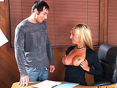 Fetish Vids: Val Malone & Joey Brass as Sexy Teacher