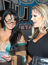 Busty Teen, Kelly Madison and Eva Angelina0