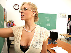 Julia Ann & Rocco Reed as Sexy Teacher