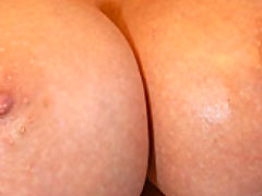 nice juggs, A stranger was in Kelly's backyard, he had a big cock that she had to devour and sit on.