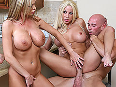 Busty Babes, Brazzers Password Gina Lynn & Nikky Benz