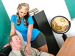 Bouncing Boobs, Phoenix Marie & Mark Wood as Sexy Teacher