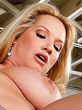 Busty milf Rachel Love gets pounded by a young cock