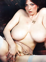 Busty Movies, Vintage Woman