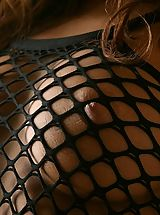 nice little tits, Yoko Yoshikawa sexy teen model in fishnet stockings is sexy and hot