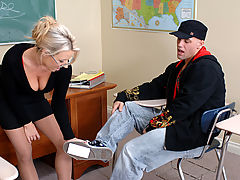 Carolyn Reese & Derrick Pierce as Sexy Teacher