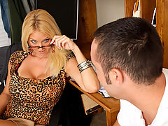 nice breasts, Charlee Chase & Daniel Hunter as Sexy Teacher