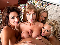 Deauxma, Julia Ann, Holly Halston, Darla Crane & Michael Vegas in Fucking Hot Moms