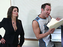 Bigtits Officesex, June Summers & Will Powers as Sexy Teacher