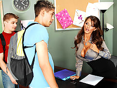 Joslyn James, Zane & Lance Strong as Sexy Teacher