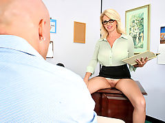 Hard Nipples, Penny Porsche & Derrick Pierce as Sexy Teacher