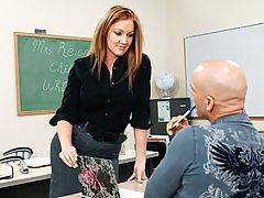 Morgan Reigns & Derrick Pierce as Sexy Teacher
