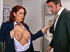 Asian Boobs, Brazzers Tits On A Plane Part 2