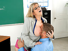 Sara Jay & Chris Johnson as Sexy Teacher