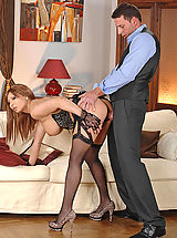 Huge.Tits Pics: Busty babe Selina gets her pussy & tits fucked by Nick Lang