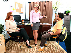 Bigtits Officesex, Cali Chase, Kitti Lynxxx & Mikey Butders as Sexy Teacher