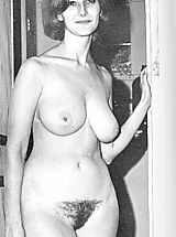 Busty Vintage, We with Friends Shared Our Photos of Our Nude Naturist Wives and Girlfriends - Hot Naked Women Posing For Us All