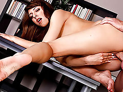 Busty Vintage, Raunchy Explicit Scene starring Lexi Bloom