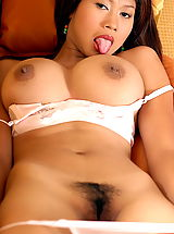 nice jugs, Asian Women alysia 03 food bigtits bakery
