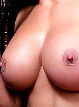Busty Babes, Sexy milf gets her tight pussy filled