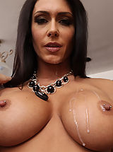 Naughty America, Hot Jessica Jaymes sleeps with her friends big cocked husband.