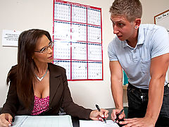 Bigtits Officesex, Syren De Mer & Danny Wylde as Sexy Teacher