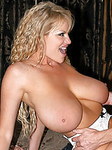 Kelly is in a mid-evil times and pleases her majesty by taking his royal cock in her pussy.