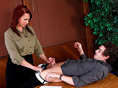 Office Vids: Nicki Hunter & Xander Corvus as Sexy Teacher