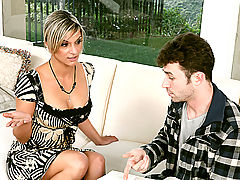 Bouncing Boobs, Klarisa Leone & James Deen as Sexy Teacher