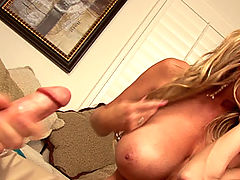 Hard Nipples, Ryan brings home a Hot ass girl to his wife! Kelly doesn't get upset she joins in and eats some pussy.